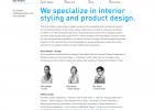 פיתוח אתר לסטודיו לעיצוב מוצר