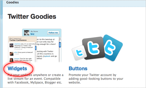 add twitter to your site tutorial